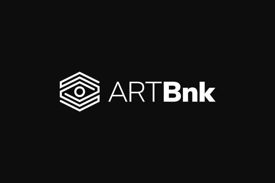 ArtBnk logo design on dark background