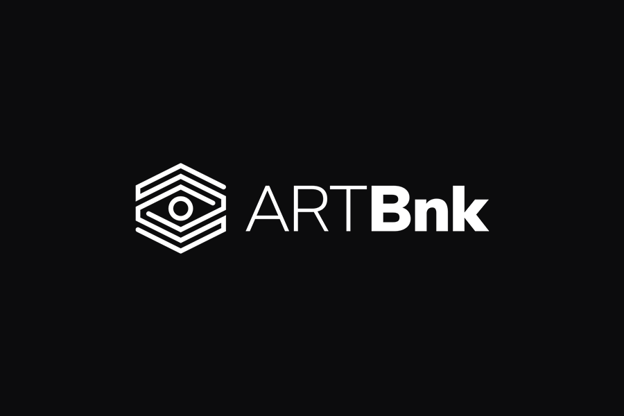 ArtBnk logo design on dark background