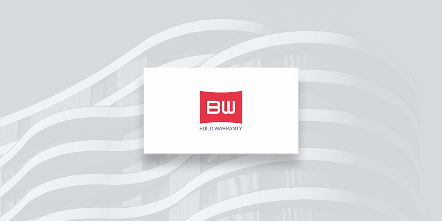BW monogram corporate logo design mockup