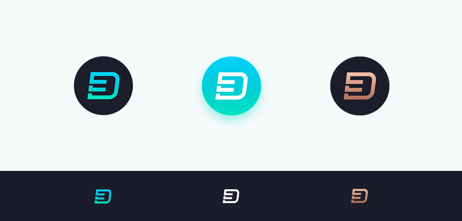 d3luxxxe monogram logo design icons