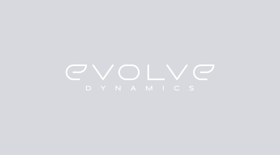 Evolve Dynamics industrial tech logo design
